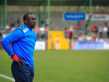 Hasselbaink werd coach bij Antwerp