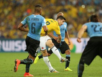 James Rodriguez vs. Uruguay
