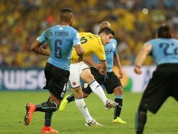 James Rodriguez versus Uruguay