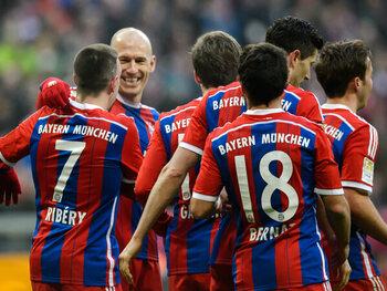 Bayern München – Hamburg (14 februari 2015)