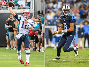 L'action de la semaine – La battle de trick plays entre Tom Brady et Marcus Mariota