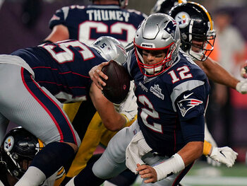 L'équipe de la semaine – New England Patriots