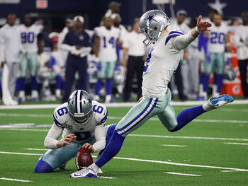 De beweging van de week – De 62 yards field goal van Brett Maher (Dallas Cowboys)