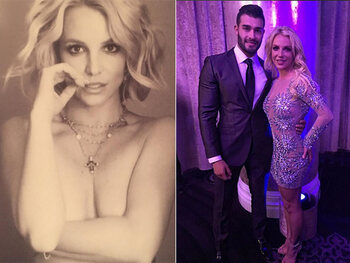 Britney Spears datant de l'histoire