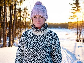 Marianne (40) - Huskygids in Finland