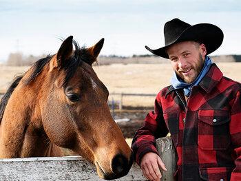Stephan (33) - 'Horseman' in Canada