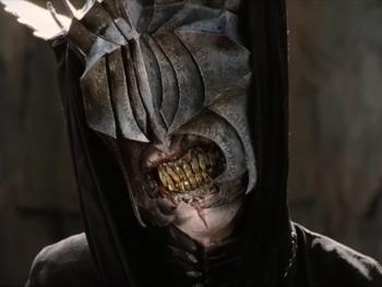 """Bruce Spence dans 'Le Seigneur des Anneaux"""" : Le retour du roi'"""