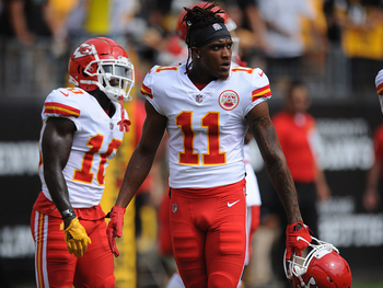 L'action de la semaine – Le touchdown de Demarcus Robinson (Kansas City Chiefs)