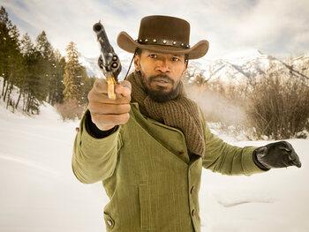 """Jamie Foxx alias Django Freeman dans """"Django Unchained"""""""