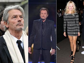 """Johnny Hallyday : """"Cloclo se tapait toutes mes ex"""" et """"Alain Delon est seul et malheureux"""""""