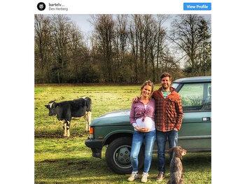 Bartel Van Riet en Dorien hebben heuglijk nieuws