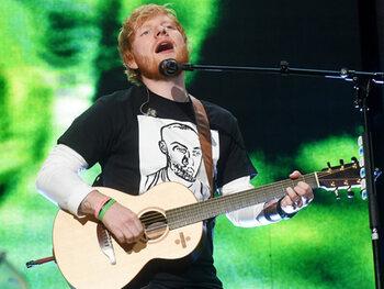 Ed Sheeran is de rijkste Britse beroemdheid jonger dan 30
