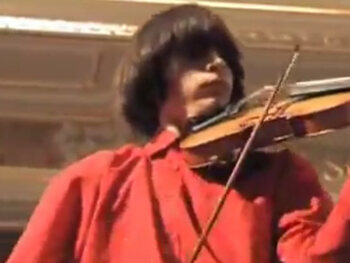 Een streepje viool