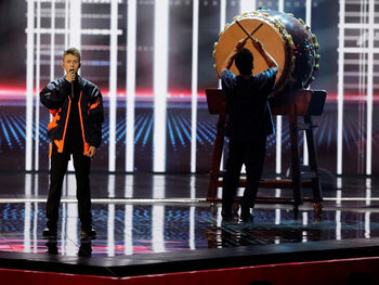 Eliot strandde in de eerste halve finale van het Eurosongfestival