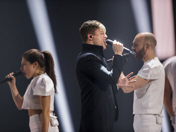 Een schitterende prestatie op het Eurovisiesongfestival