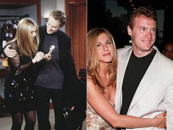 """Amoureux dans """"Friends"""", ils se séparaient dans la vraie vie"""