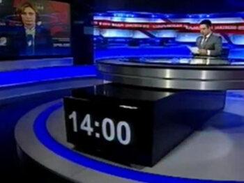VTM-nieuws vs. het nieuws op de Georgische zender 1TV
