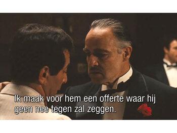 Een topofferte van Don Vito Corleone