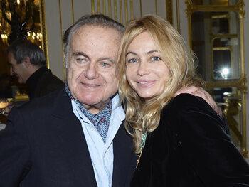 Avec son père en 2012