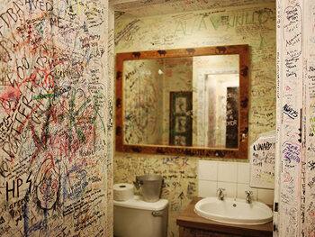 J.K. Rowling zat ooit wellicht op dit toilet