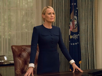 "Claire Underwood dans ""House of Cards"""