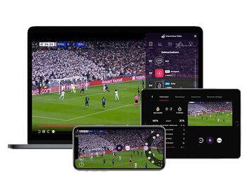 Proximus Pickx valt met zijn interactieve videoplayer in de prijzen tijdens de 'International Sports Awards'