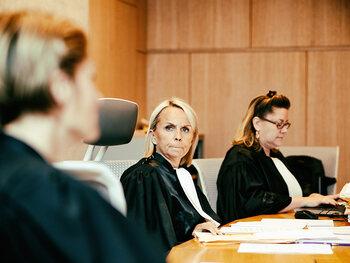 Zes nieuwe rechters in nieuw seizoen De Rechtbank