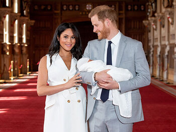 De eerste foto's van baby Archie