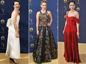 Le tapis rouge des Emmy Awards 2018