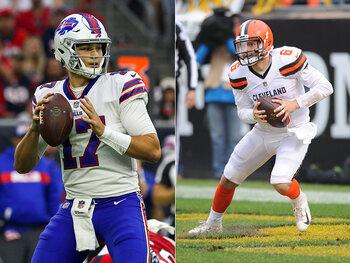 Les joueurs de la semaine – Josh Allen (Buffalo Bills) et Baker Mayfield (Cleveland Browns)
