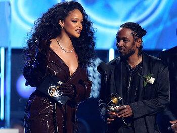 Kendrick Lamar en Rihanna