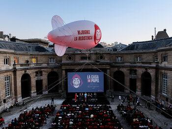 La Casa fait le buzz à La Monnaie de Paris