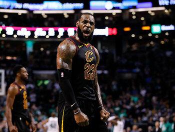 LeBron trekt Cleveland over de streep
