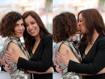 Le baiser de Lubna & Nisrin