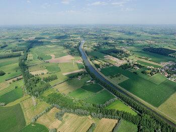 Langs de kreken van het Meetjesland (35 km)