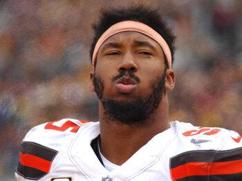 De flopspeler van de week – Myles Garrett (Cleveland Browns)