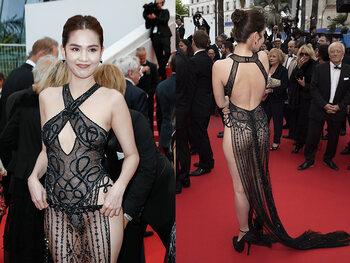 De 'jurk' van Ngoc Trinh