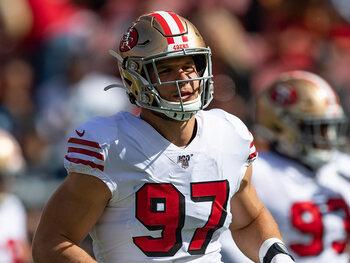 De speler van de week – Nick Bosa (San Francisco 49ers)