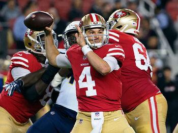 Le joueur de la semaine – Nick Mullens (San Francisco 49ers)