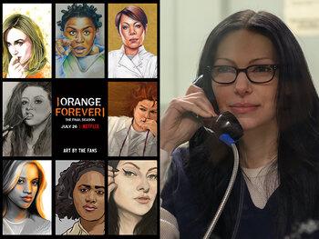 """""""Orange is the new black"""" S7 : les secrets de la série"""