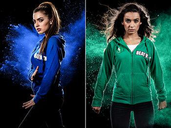 Olga Leyers vs Margaux (26, Menen): cheerleaden