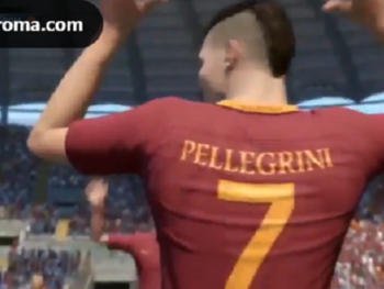 Lorenzo Pellegrini bij AS Roma