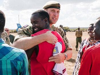 Quand le prince William rencontre... Prince William !