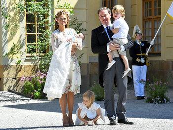 Prinses Madeleine en prinses Adrienne