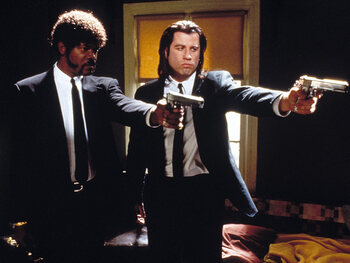 John Travolta als Vincent Vega - Pulp Fiction