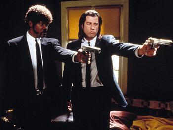 "John Travolta alias Vincent Vega dans ""Pulp Fiction"""