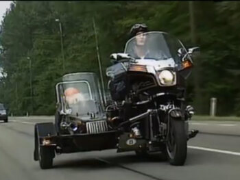 Samen op de moto