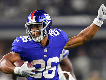 L'action de la semaine – Saquon Barkley (New York Giants)