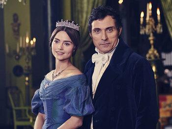 """La reine dans """"Victoria"""""""