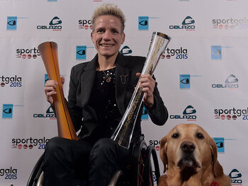 Marieke Vervoort, une athlète souvent honorée